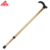 Length adjustable Two sections and 6 gears aluminum crutch for elderly