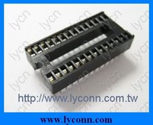 2.54mm Square pin ic socket Low profile