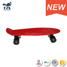 HSJ52 new design fish Plastic skateboards 22 inch good quality skate board