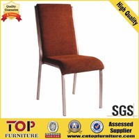 New Style Five Star Hotel Stackable Aluminum Chair