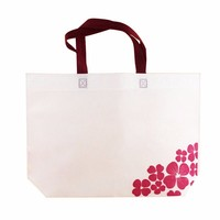 wholesale recyclable fashion printing custom promotional foldable non woven bag