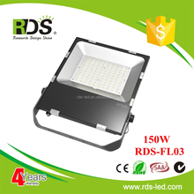 2016 hot product 120lm/w 150w outdoor led flood light for billboards