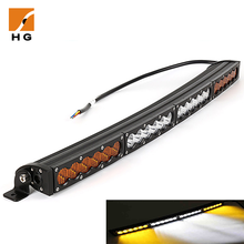 Waterproof IP68 120W 9600LM Led Light Bar Offroad Spot Flood Combo Led Work Light Bar for Off-road, Truck, Car, ATV, SUV, Jeep