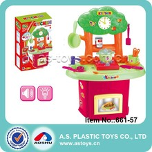 Play At Home big plastic kitchen toy play food for girl