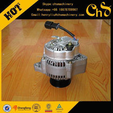 Truck Parts Diesel Engine Alternator for Excavator, Bulldozer, Wheel Loader