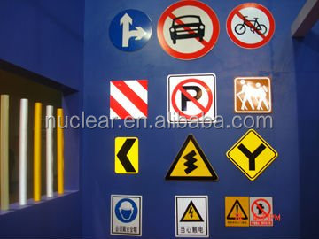 Traffic road signs High light reflective fabric for traffic used
