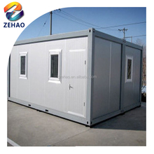 Low cost PU sandwich panel container home Modular House for Camp portable building mobile building