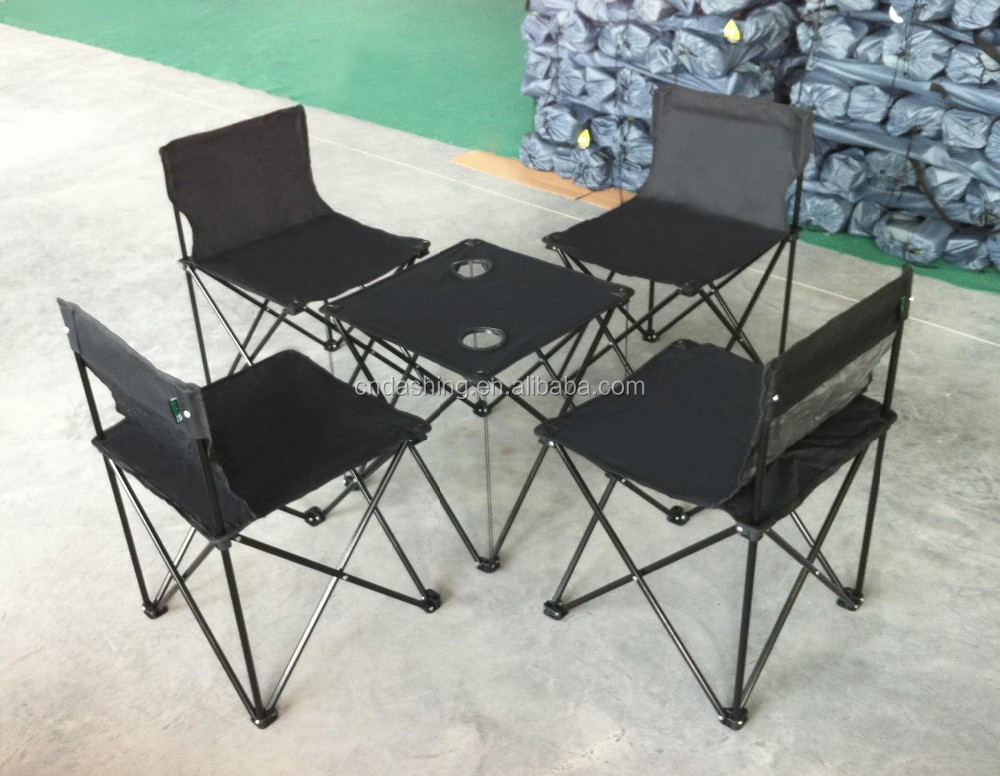Camping table and chair manufacturers,folding picnic table and chair set with carry bag, easy carry