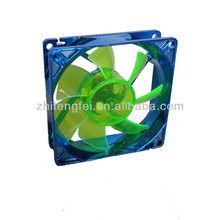 80mm high air flow 5v 12v dc micro cooling led computer fans