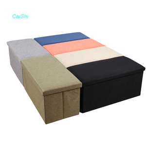 Living room furniture folding storage organizer and storage cubes
