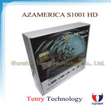 Azamerica S1001 nagra3 iks sks tv receptor hd az america s1001 hd satellite decoder for Chile n3 channels