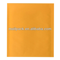 Kraft Bubble Mailers with Yellow Color #0 Size