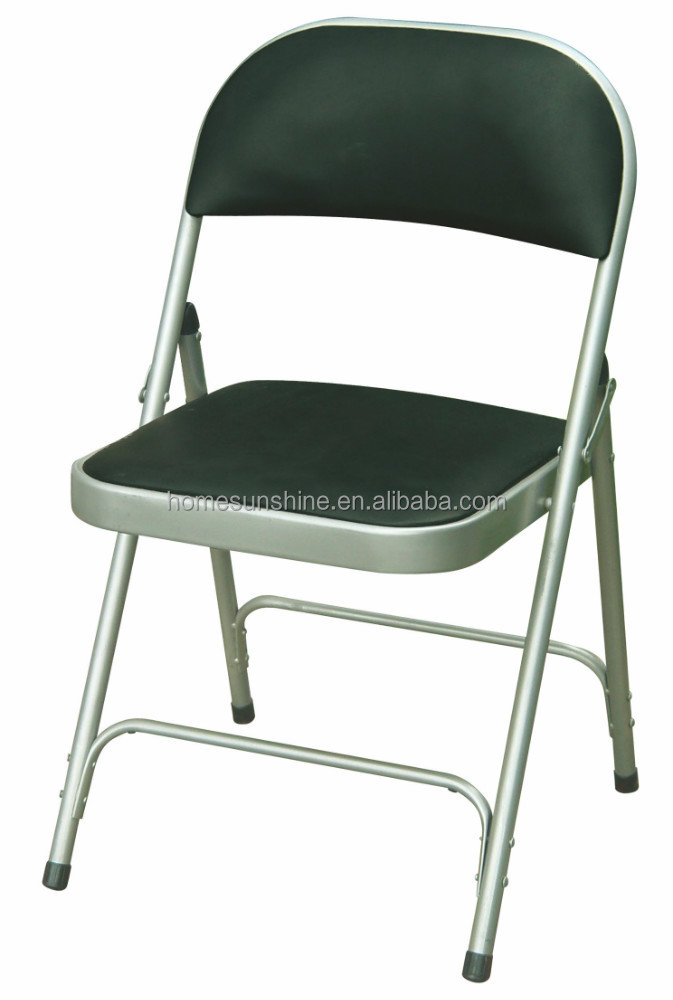 Hot Sale Metal Folding Chair With Pad Hs yz067 Buy Used Metal Folding Chair