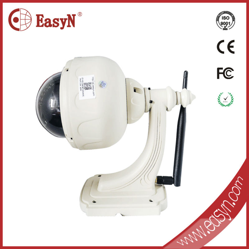 EasyN best selling 1.3 megapixel wifi infrared camera module with pan tilt motor controller and external sensors motion