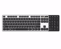 Combined function multimedia wired usb computer office keyboard