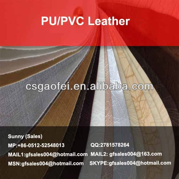 new PU/PVC Leather thermo pu leather for PU/PVC Leather using