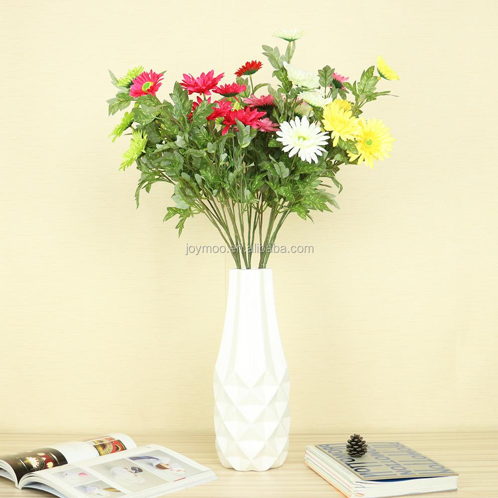 China Wholesale Cheap Silk Flower Decorative Artificial Gerbera