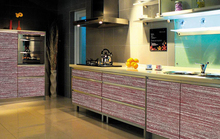 ZhiHua high gloss acrylic kitchen cabinets dining room and office furniture