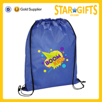 custom cheap promotional cute sublimation kids drawstring bag