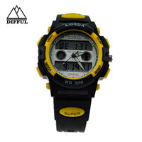 Hot selling waterproof magnetic fashion watch best men digital watches 2012