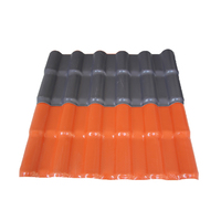 Spanish style coated synthetic resin spanish roof tile