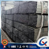 carbon steel welded galvanized square pipe & rectangular pipe