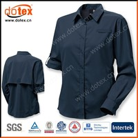 2016 wicking dry rapidly office work custom tailored ladies shirts