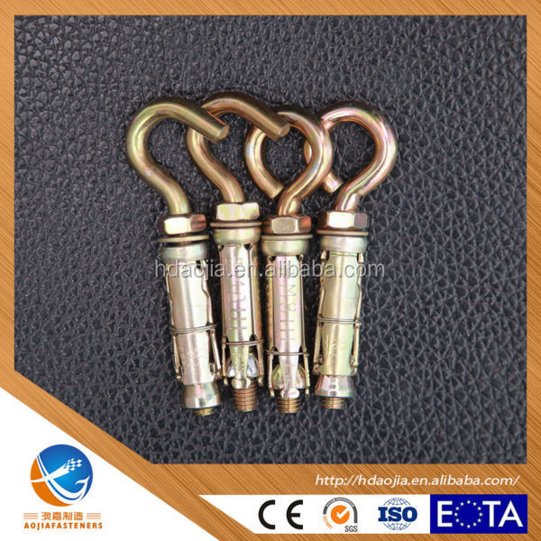 high quality stainless steel 4pcs shield fix bolt