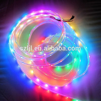 RGB IC led strip DC 12V Flexible led strip 30leds/m IC2811/16703 optional
