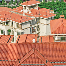 S1 310X310mm low price pop top decorative clay roof in cameroon
