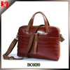 Print women shoulder bag high quality alligator leather travel tote bag for women