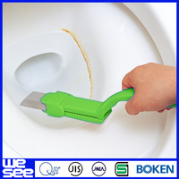 electric ceramic curved toilet bowl brush