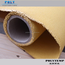 Acrylic coated glass fiber cloth,yellow color, for welding blanket