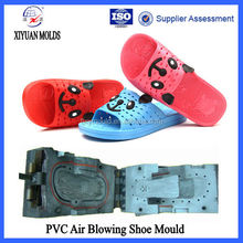 Fashion Design Girls PVC Aluminum Blow Molds Of Slippers