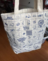 Popular promotional canvas best diaper bag