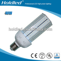 UL E26 ISO China factory AC100-277V 40W led corn light replacement for HPS 120W, MHL120W, CFL40W, Incandescent lamp150W.