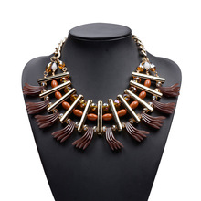 European and American Fashion Brand Necklace Lady Choker Bib Statement Necklace N5509