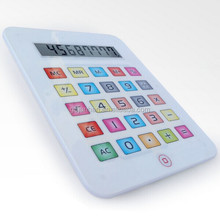 Big fashion touch screen ipad shaped calculators
