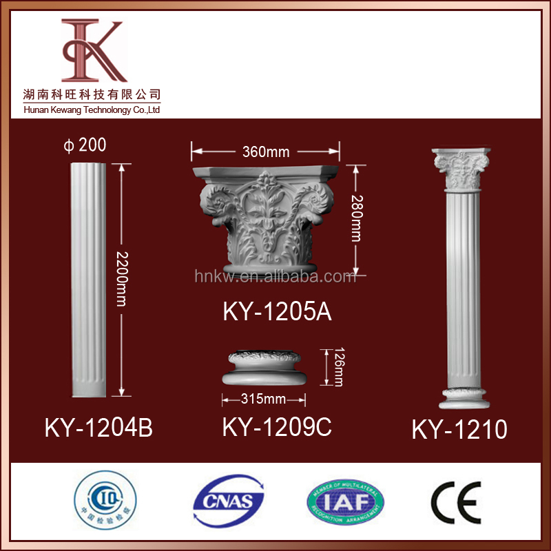 Newest Pillars And Columns Roman pillars for sale