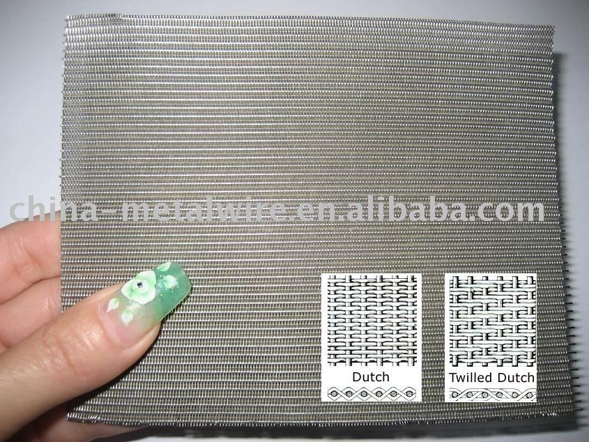 Dutch Wire Cloth For Filter Media