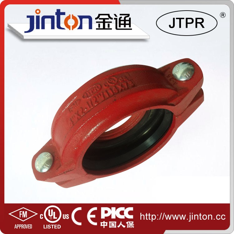 Fire peotection pipe fittings flexible coupling and connectors