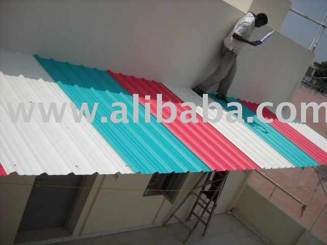 Multi layer U-PVC Roofing - Cladding sheets