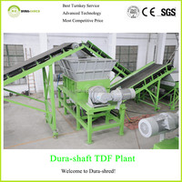 Dura-shred 2015 new generation used tire retreading recycling machine
