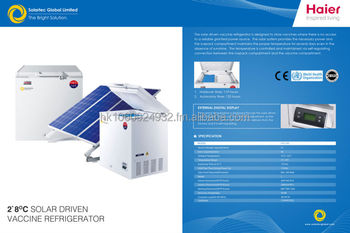 Solar Powered Direct Drive Vaccine Fridge