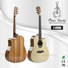 L-840A 41' good quality spruce top zebrawood acoustic guitar