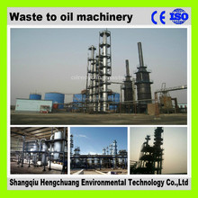 continuous used engine oil refining machine with 85% diesel oil output