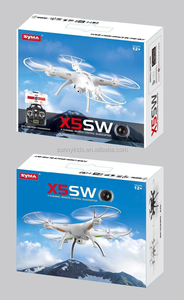 Original SYMA X5SW WIFI RC Drone FPV Quadcopter Real time Video Transmission Flying drone