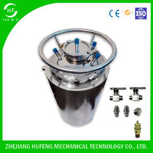 Closed Loop Extractor Stainless Steel Solvent Extraction Storage Tank