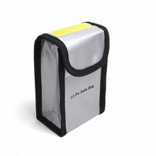 SLGD065 Lipo Battery Safe Bag in Case of Exploding to Protect People Suitable for DJI Drone Li-po Battery Carrying Bag