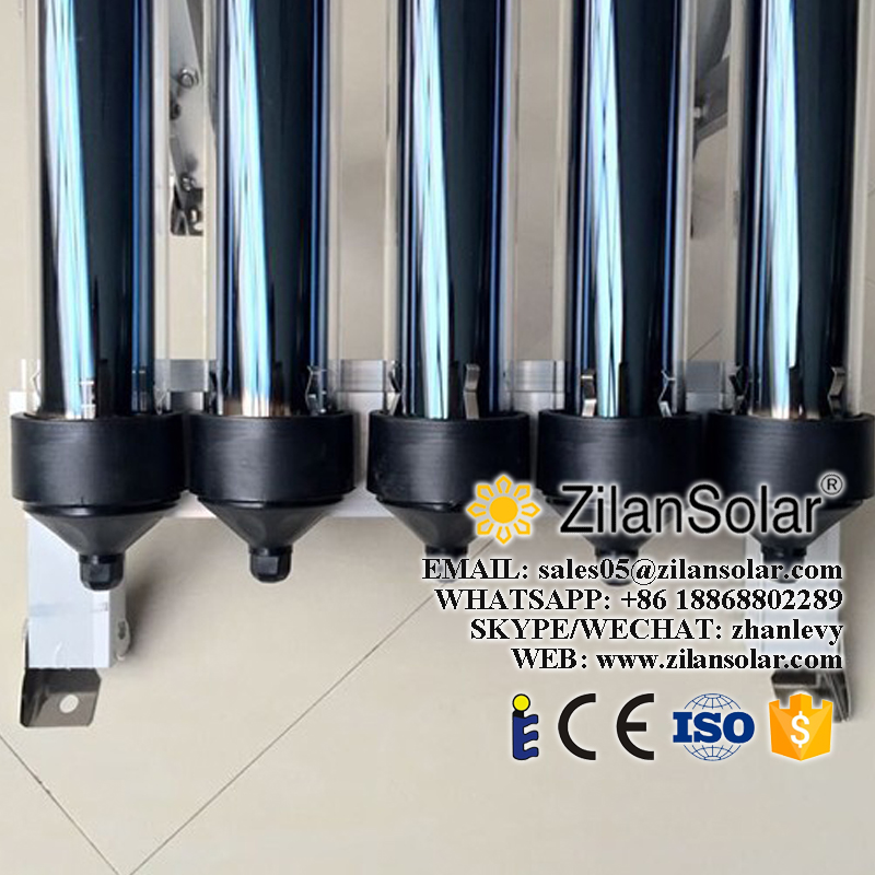 Borosilicate glass tube wall mounted solar pool heater solar collector